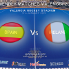 FRIENDLY MATCHES VALENCIA 2015 – SPAIN Vs IRELAND