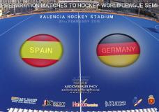 ESPAÑA Vs GERMANY (25 de Febrero 2015) – Torneo Internacional 4 naciones de Hockey Hierba Valencia