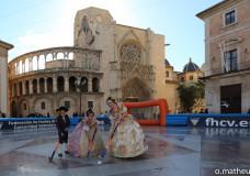 Jornada de Hockey en la Plaza de la Virgen de Valencia