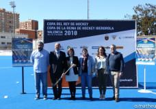 Presentación de la Copa del Rey y de la Reina Iberdrola Valencia 2018