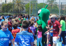 Fiesta final de escuelas 2018 en Valencia